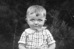 Giovanni all'età di un anno