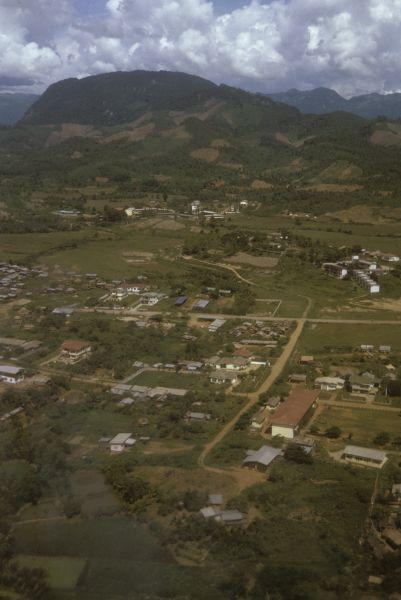 Veduta della città di Luang Prabang