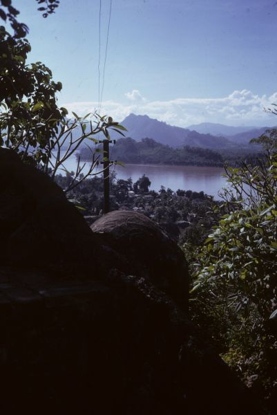 La città di Luang Prabang è bagnata dal Mekong